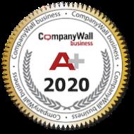 Companywall bonitetna ocjena A+ 2020